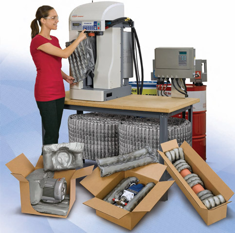 Foam In Bag Amp Sealed Air Packaging Master Packaging Solution